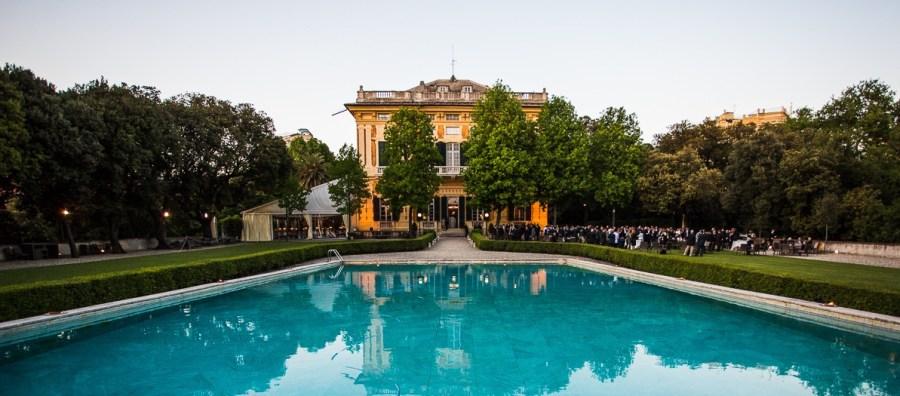 H2O evento in villa